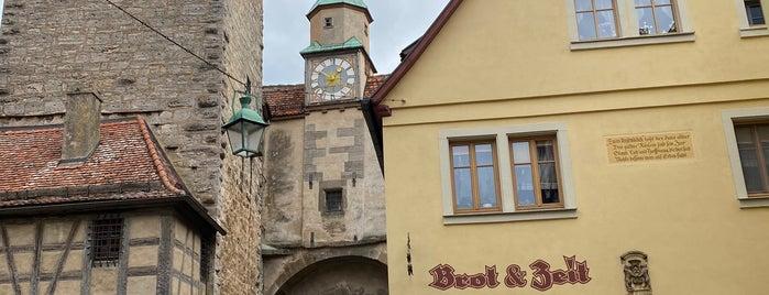 Brot & Zeit is one of Rothenburg Ob Der Tauber.