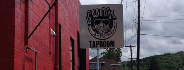 Funk Brewing Company is one of Orte, die Tim gefallen.