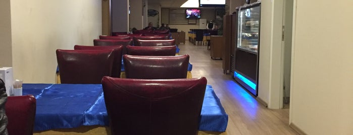 Karadeniz Balık Restaurant is one of Tempat yang Disimpan serhan.