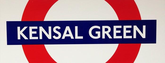 Kensal Green London Underground and London Overground Station is one of Mariana : понравившиеся места.