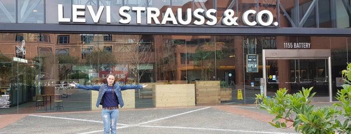 Levi Strauss & Co. is one of Locais curtidos por Ki.