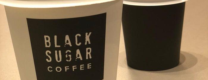 Black Sugar is one of Orte, die Fran gefallen.