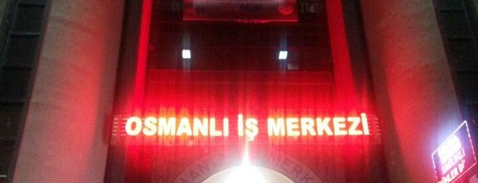 Osmanlı İş Merkezi is one of Posti che sono piaciuti a Tunahan.