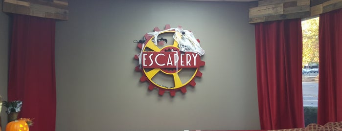 The Escapery: Atlanta Best Real Escape Room & Games is one of Lugares favoritos de Kawika.