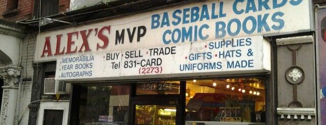 Alex's MVP Comics & Cards is one of Comics NYC.