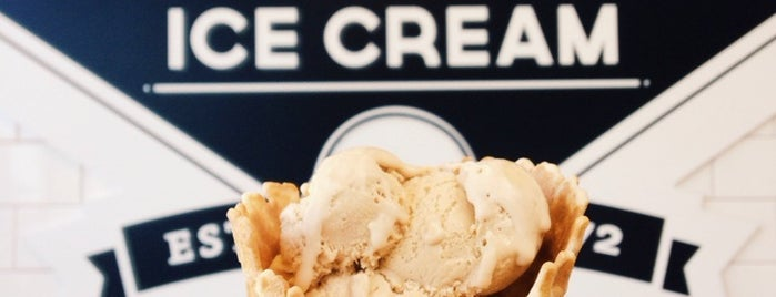 Hans' Homemade Ice Cream is one of Orange County.