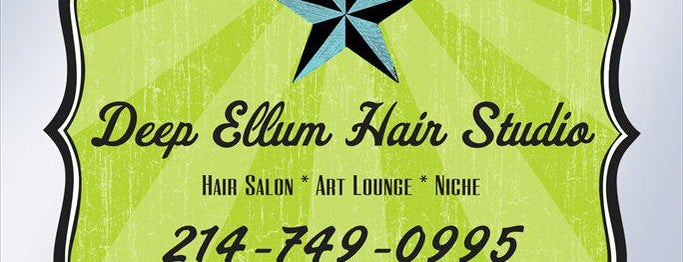 Deep Ellum Hair Studio is one of Lieux qui ont plu à Nathan Scott.