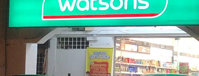 Watsons is one of สถานที่ที่ Rahmat ถูกใจ.