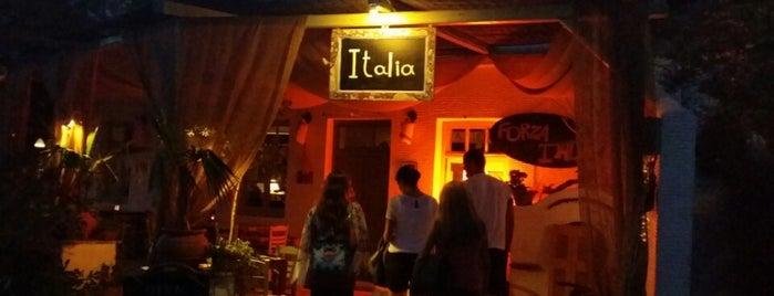 Italia is one of Manolis visited.