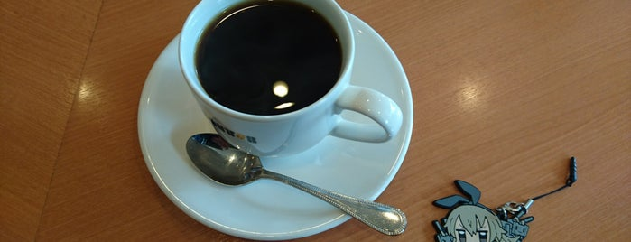 ドトールコーヒーショップ コスパ松原店 is one of สถานที่ที่ Hirorie ถูกใจ.