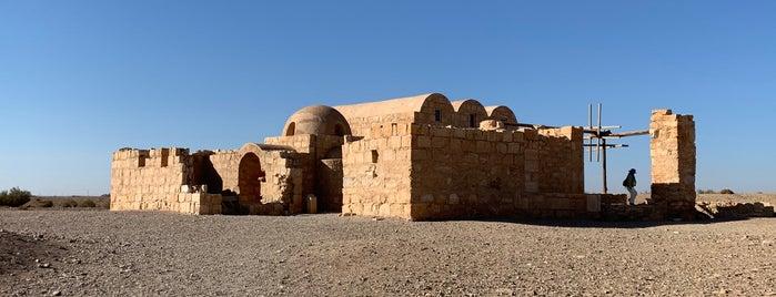 Qasr Amra is one of JORDAN.