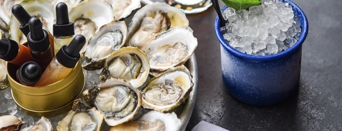 Grand Army is one of Oyster Happy Hour.