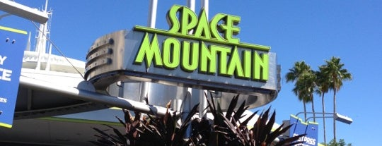 Space Mountain is one of Favorite Places to visit!.