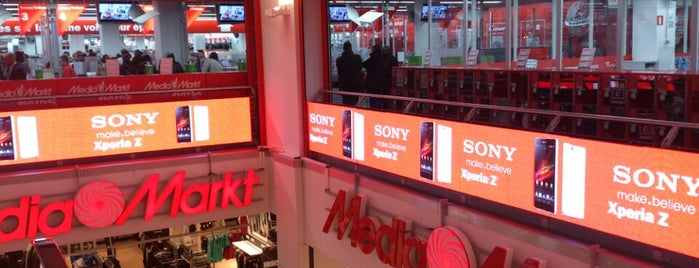 MediaMarkt is one of Lieux qui ont plu à Hideo.