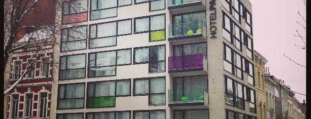 Pantone Hotel is one of Brusselicious.