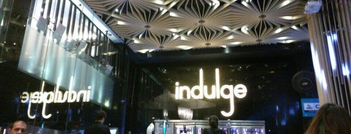 indulge is one of Bangkok To Do.