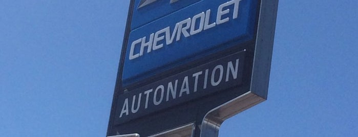 AutoNation Chevrolet West Colonial is one of Lugares favoritos de Annette.