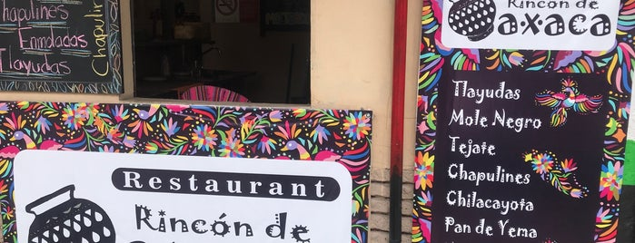 Rincon De Oaxaca is one of Mexicana CDMX.