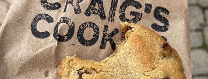 Craig's Cookies is one of Want to try.