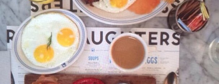 Russ & Daughters Café is one of Anthony Bourdain's.