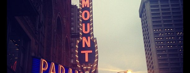 Paramount Theatre is one of Neon/Signs Washington.
