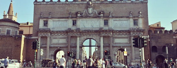Porta del Popolo is one of Europe 5.