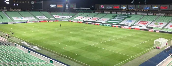 Estadio Corona is one of ᴡさんのお気に入りスポット.