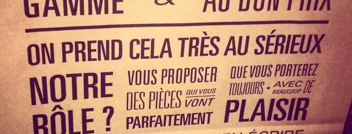 Bonne Gueule is one of Paris, je t'aime.