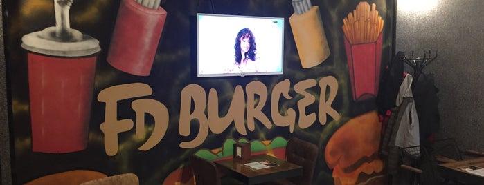 Fd Burger is one of Kerim'in Beğendiği Mekanlar.