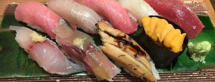 Sushi Shin is one of hong kong food.