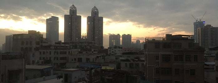 Hilton Shenzhen Futian is one of Tempat yang Disukai Claudia.