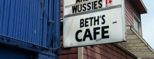 Beth's Café is one of Lugares guardados de Toni.