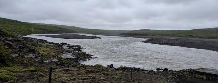 Öxarfjörður útsýnispallur is one of Lieux qui ont plu à Mark.