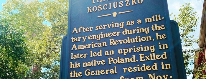Thaddeus Kosciuszko National Memorial is one of Fun.