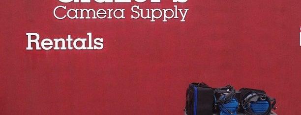 Glazer's Camera Supplies: Rentals is one of สถานที่ที่ Kate ถูกใจ.