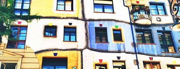 Hundertwasserhaus is one of Gez Gor.
