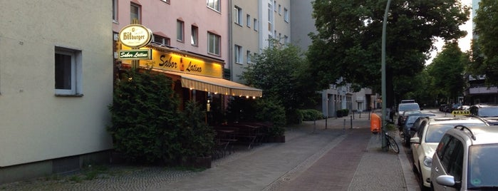 Sabor Latino is one of Berlin exploration.