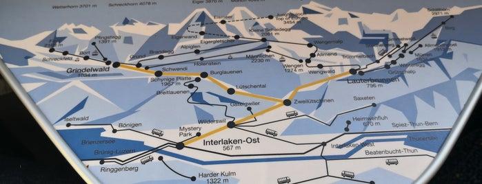 Bahnhof Wilderswil is one of Vangelis 님이 좋아한 장소.