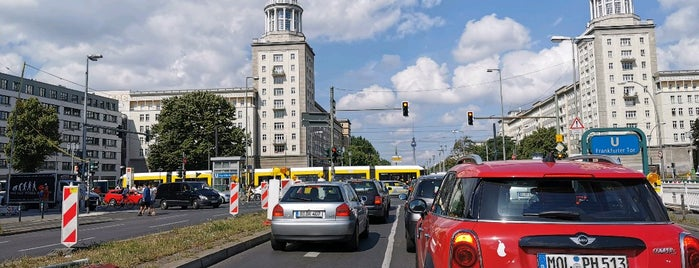 U Frankfurter Tor is one of U & S Bahnen Berlin by. RayJay.
