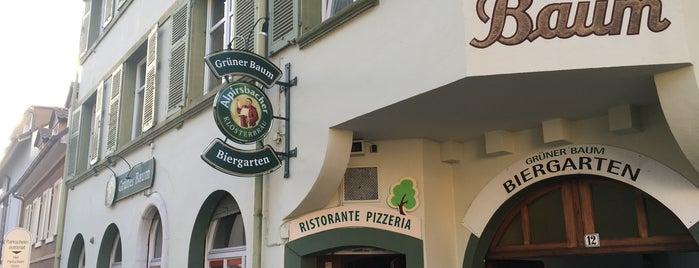 Pizzeria Grüner Baum is one of Freiburg.