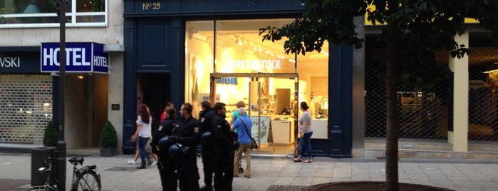 Birkenstock Frankfurt is one of Frankfurt 101.