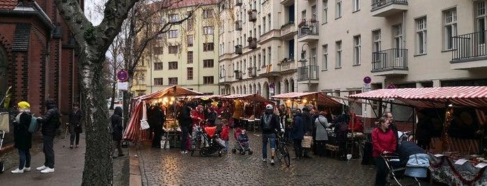 KiezWeihnacht um die Samariterkirche is one of Weihnachtsmärkte 2.