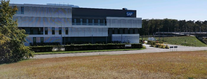 SAP HQ Campus is one of Robert : понравившиеся места.