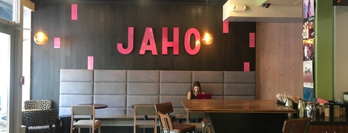Jaho Coffee & Tea is one of Favorites.