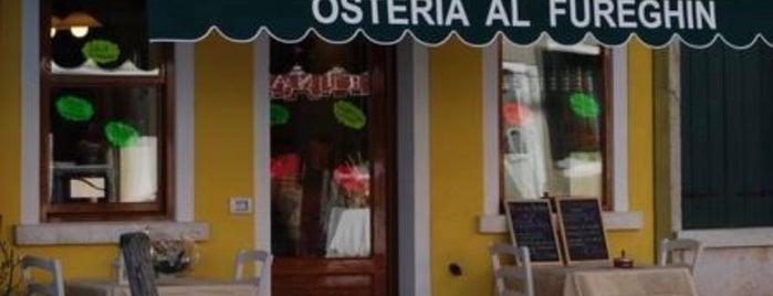 Osteria al Fureghin is one of Kevin : понравившиеся места.