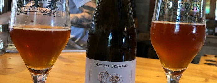 Flytrap Brewing is one of Alex'in Kaydettiği Mekanlar.