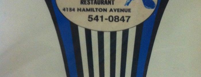 Blue Jay Restaurant is one of Tempat yang Disukai Elena.