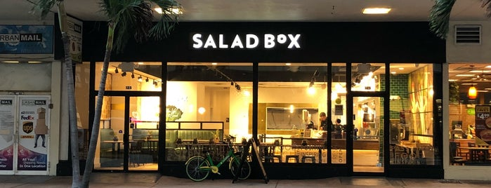 Salad Box is one of Miami - My list.