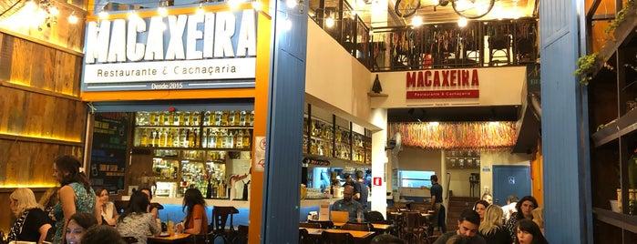 Macaxeira Restaurante & Cachaçaria is one of Locais curtidos por Marcos.
