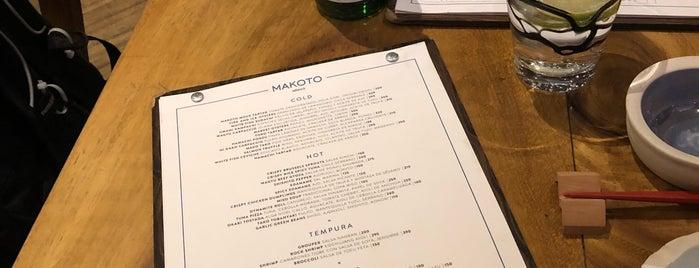 Makoto is one of Restaurantes.